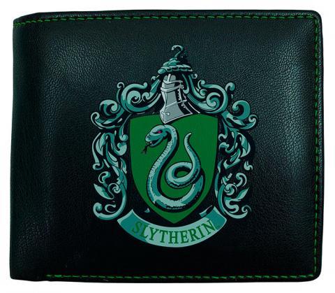 Harry Potter Slytherin Mens PU Wallet