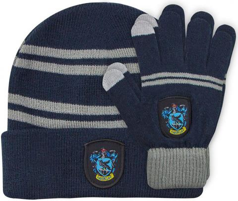 Harry Potter Beanie & Gloves Ravenclaw Kids Set