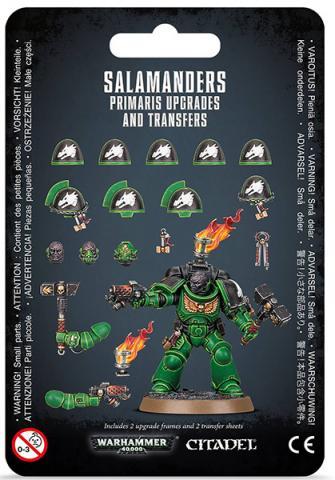 Salamanders Primaris Upgrades & Transfers