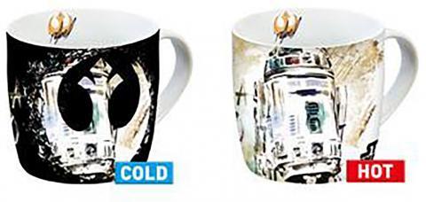 Heat Change Mug Rebel Logo R2-D2
