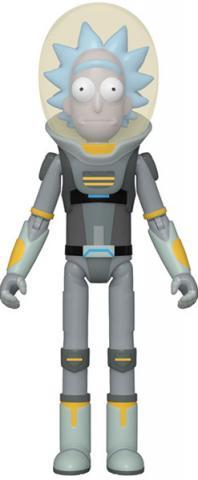 Action Figure Space Suit Rick