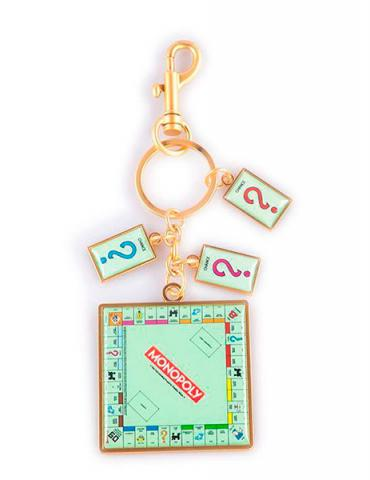 Monopoly Metal Keychain