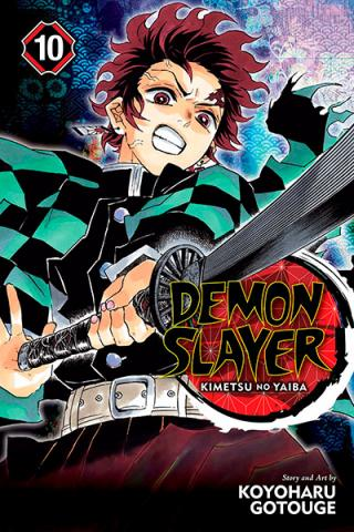 Demon Slayer Kimetsu no Yaiba Vol 10