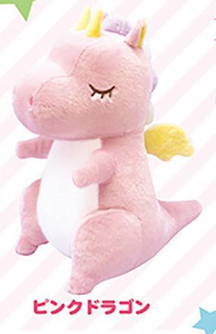 Fantasy Dragons Plush: Pink