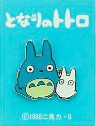 My Neighbor Totoro Pin Badge Medium Totoro & Small Totoro