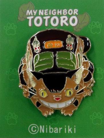 My Neighbor Totoro Pin Badge Cat bus