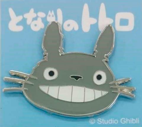 My Neighbor Totoro Pin Badge Totoro (face)