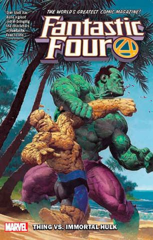 Fantastic Four Vol 4: The Thing vs The Immortal Hulk