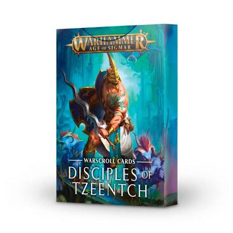 Disciples of Tzeentch Warscroll Cards
