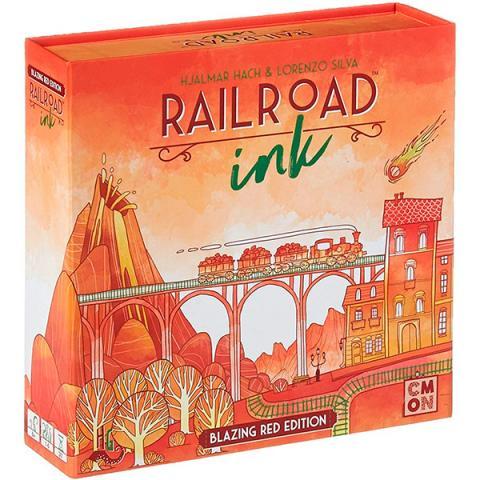 Railroad Ink Blazing Red (Skandinavisk Utgåva)