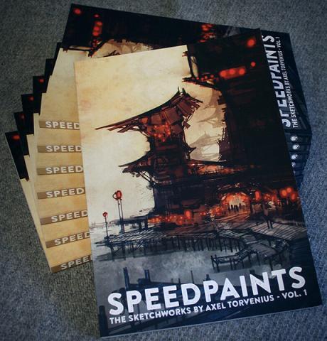 Speedpaints - The Sketchworks by Axel Torvenius vol 1