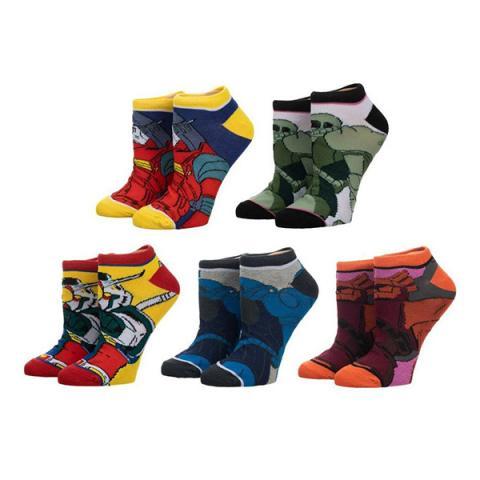 Gundam Ankle Socks 5-Pack