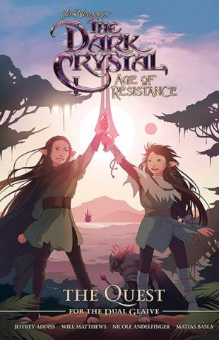 The Dark Crystal Age of Resistance: The Quest for Dual Glaive