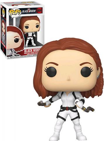 Black Widow White Suit Pop! Vinyl Figure