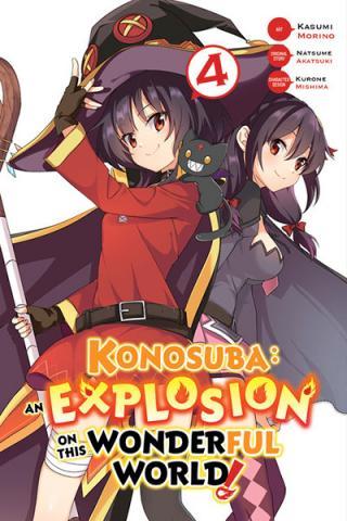 Konosuba: An Explosion on This Wonderful World Vol 4