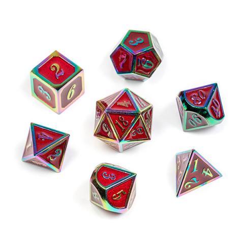 11: Metal Rainbow Series: Red