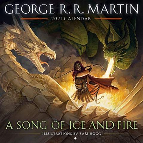 A Song of Ice and Fire 2021 Wall Calendar