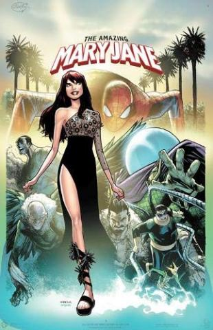 Amazing Mary Jane Vol 1: Down in Flames, Up in Smoke