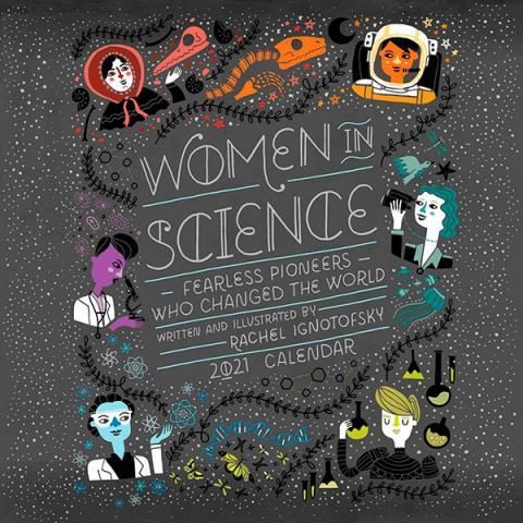 Women in Science 2021 Wall Calendar