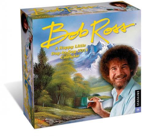 Bob Ross 2021 Day-to-Day Calendar