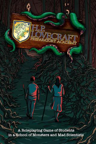 H.P. Lovecraft Preparatory Academy - Softcover