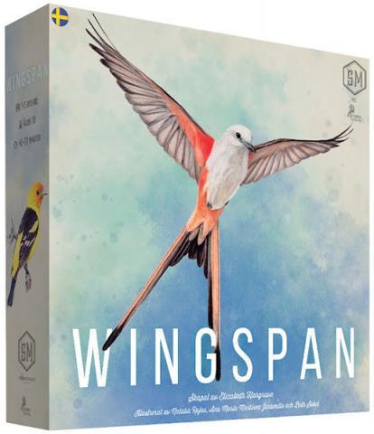 Wingspan - Revised Edition (Svensk utgåva)