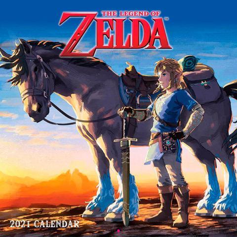 Legend of Zelda 2021 Wall Calendar