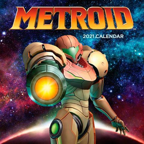 Metroid 2021 Wall Calendar