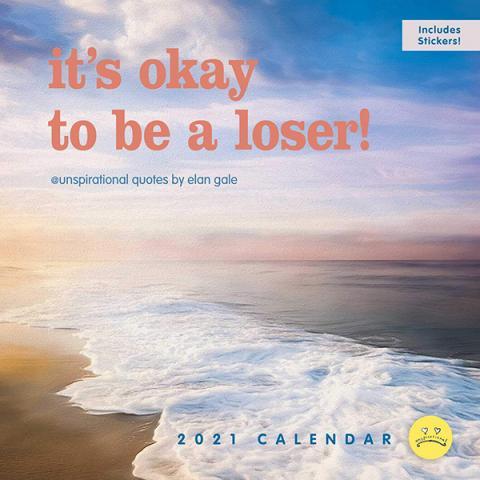 Unspirational 2021 Wall Calendar