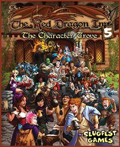 Red Dragon Inn 5 The Character Trove (Stand Alone and Expansion)