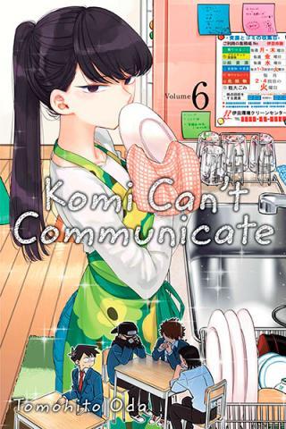 Komi Can't Communicate Vol 6