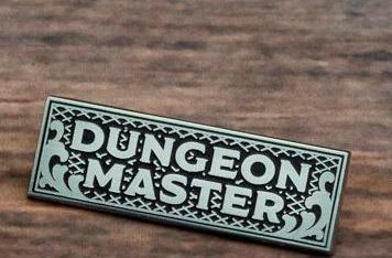 Enamel Pin Dungeon Master