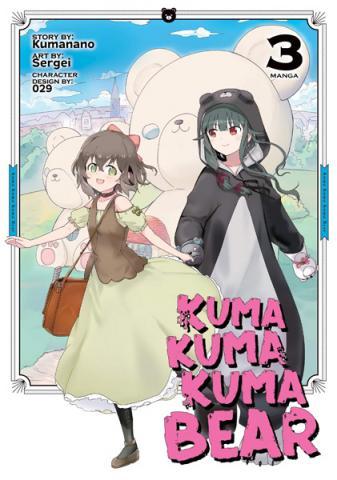 Kuma Kuma Kuma Bear Light Novel Vol 3