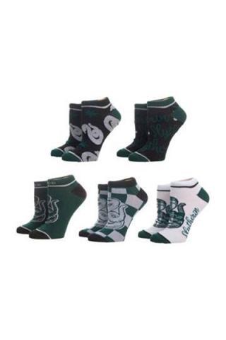 Harry Potter Ankle Socks 5-Pack Slytherin