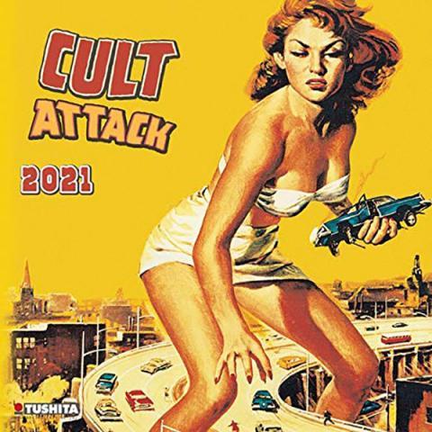 Cult Attack 2021 Wall Calendar