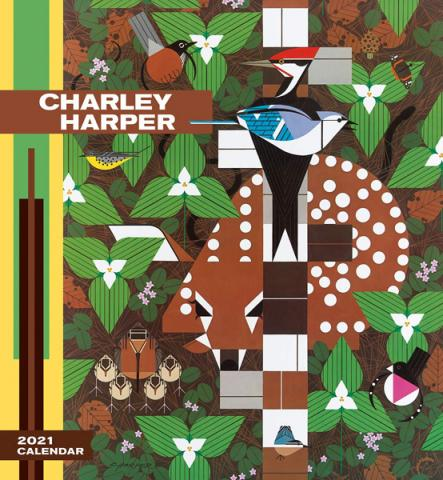 Charley Harper 2021 Wall Calendar