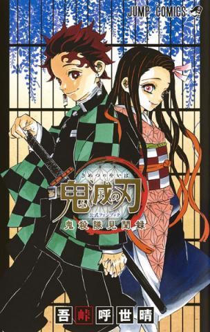Demon Slayer Kimetsu no Yaiba Fan Book (Japanska)