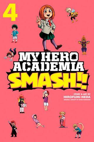 My Hero Academia Smash Vol 4
