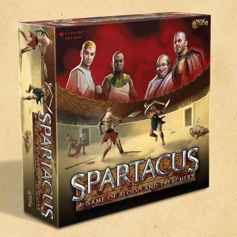 Spartacus - A Game of Blood and Treachery (New Edition)
