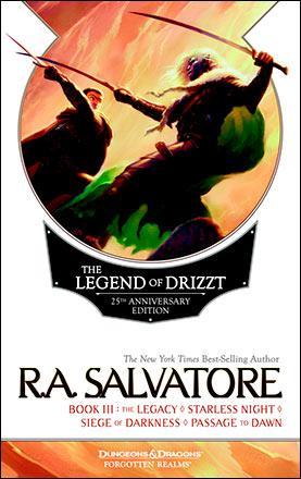 The Legend of Drizzt 25th Anniversary Edition Book III
