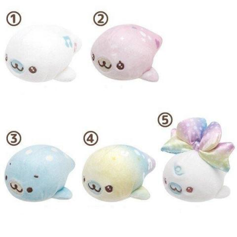 Mamegoma Seal Plush Mini: Mame Party
