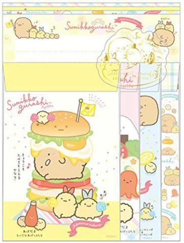 Sumikkogurashi Letter Set: Fried Food Friends