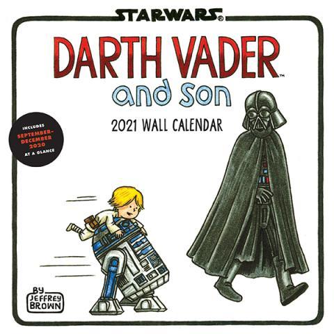 Darth Vader and Son 2021 Wall Calendar