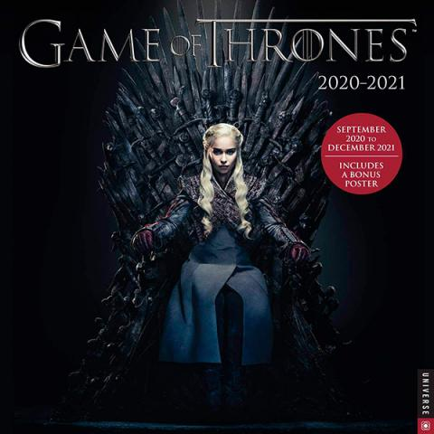 Game of Thrones 2021 Wall Calendar