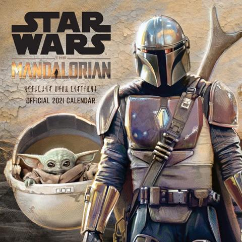 Star Wars The Mandalorian 2021 Wall Calendar