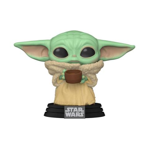 The Child (Baby Yoda) with Cup Pop! Vinyl Figure