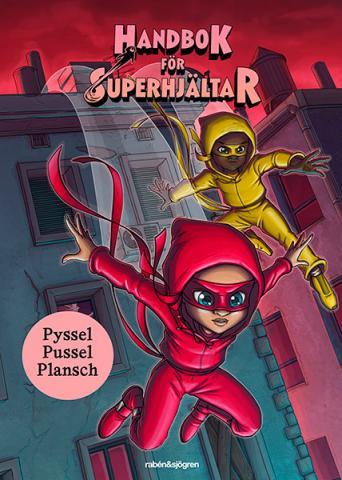 Handbok för Superhjältar box - pyssel, pussel, plansch