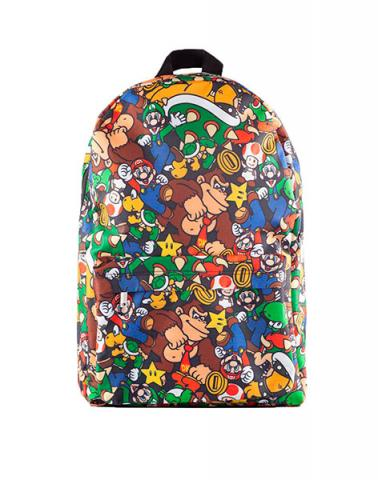 Super Mario Characters AOP Backpack