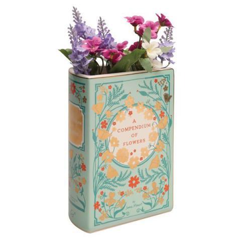 A Compendium of Flowers Ceramic Vase