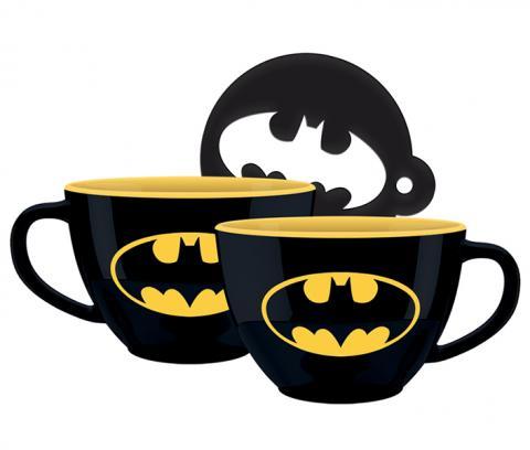 Batman Cappuccino Mug Bat-Signal